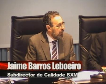 Jaime Barros Leboreiro, subdirector xeral de Calidade, Interoperabilidade e Seguridade da Secretaría Xeral de Modernización e Innovación Tecnolóxica - Seminario de boas prácticas na contratación TIC